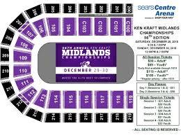 Events Ken Kraft Midlands Championships Sears Centre