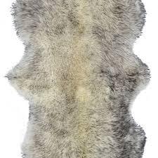 100 new zealand sheepskin double aprox 2 x6 grant grey by lifestyle group distribution inc on dot bo