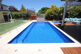 medium fibreglass pools