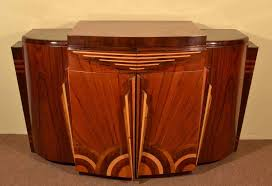 Art Deco 1920s Style Rosewood Drinks Cabinet Art Deco