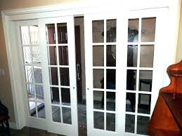 cost of french doors replace sliding glass door with