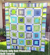 Charm Jelly Roll Friendship Quilt Tutorial & Simply Color Giveaway ... & I don't like goodbyes and I had a tough one a few weeks ago when I had to  say goodbye to a dear friend and co-worker who moved. Adamdwight.com