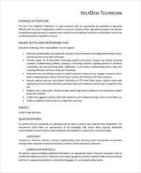 help desk analyst job description service desk job description template