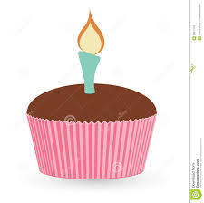 cupcake with candle vector. Wonderful Candle Drawing Art Of Cartoon Cup Cake With Candle Vector Illustration Intended Cupcake With L