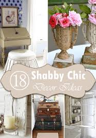 Small Picture 18 DIY Shabby Chic Home Decorating Ideas on a Budget