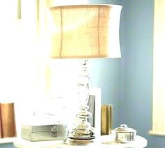 awesome antique table lampercury glass lamp se crystal base for in with cream fluted crystal floor lamp