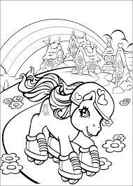 Pony Kleurplaten