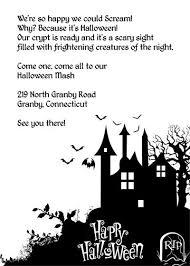 Free Halloween Birthday Invitation Templates Free Halloween Birthday Invitation Templates Free