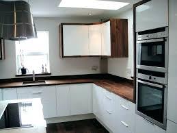 black walnut cabinets rustic modern bedside