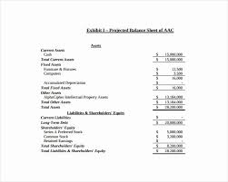 Projected Balance Sheet In Excel Fundraising Donation Letter Template Elegant 10 Best