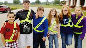"group works to keep classmates safe the andalusia star news called the ""safety patrol "" these fifth grade andalusia elementary school students carley"