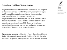 Professional PhD Thesis Writing Services     Professional     SlideShare
