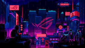 Pixel art background, Desktop wallpaper ...