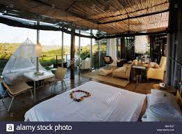 National Furniture Bedrooms Bedroom Suite At Singita Lebombo Lodge Kruger National Park Stock