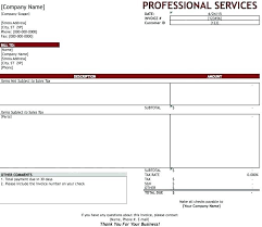 Excel Invoice Template Download Templates How To Create In