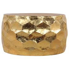 gemoratic hammered gold leaf metal coffee table free throughout remodel 2