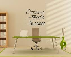 inspirational pictures for office. aliexpresscom buy famous quote dreams work success motivational wall sticker dream diy decorative inspirational office decal from pictures for
