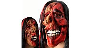 GOBUY-<b>Halloween Mask</b> Horror Mask Halloween Dress Up Scary ...
