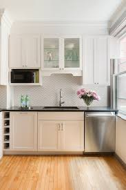 Over The Counter Microwave Nook, Transitional, Kitchen, Pinney Designs