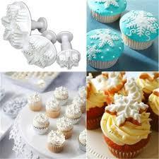 Cupcake Kitchen Decor Sets Popular Snowflake Cupcakes Buy Cheap Snowflake Cupcakes Lots From
