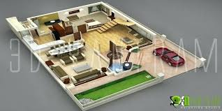 house design plans 3d 3 bedrooms 2 storey house floor plan design