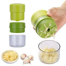 Yafook Garlic Press Chopper Crusher Machine <b>Multifunction</b> Mincer