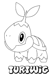 Small Picture Coloring Pages Pokemon Top Tepig With Coloring Pages Pokemon