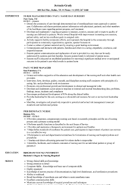 Sample Nurse Resume Pacu Nurse Resume Samples Velvet Jobs 20