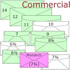 Size Of Envelopes Standard Sizes And Dimensions For Envelope Enclosures