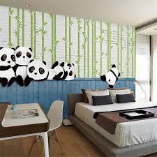 Beibehang Custom 3D Modern Simple Panda Animal