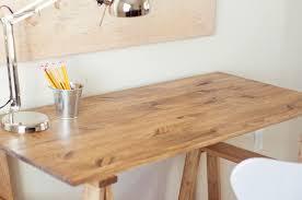 antique sawhorse table