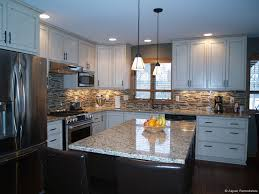 White Kitchen Remodeling Custom White Cabinet Kitchen Remodel Aspen Remodelers In The