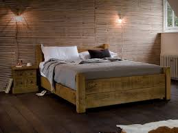 rustic wood bed frame. Contemporary Frame Rustic Wood Bed Frame To T