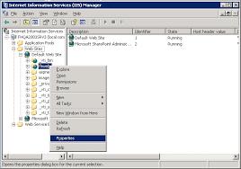 IIS 6.0) Set Index.html as default document