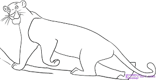 the jungle book coloring pages how draw from the jungle book step jungle book colouring pages