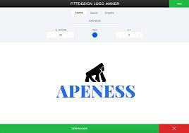 Image Size For Logo Design Free Instant Logo Maker Simple Yet Elegant Fittdesign