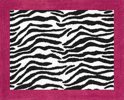 pink and black rug. Alluring Zebra Bath Rug Hot Pink Black Print Soft Accent Floor Area Or And