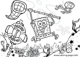 Spongebob Patrick Squidward Coloring Pages Punk Page Free Book On