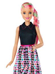barbie doll. Buy Barbie Spring Hair Feature Doll, Multi Color Online At Low Prices In India - Amazon.in Doll