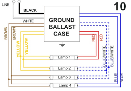 allanson 448 at magnetic sign ballast 8 to 18 feet total length allanson magnetic 4 lamp wiring