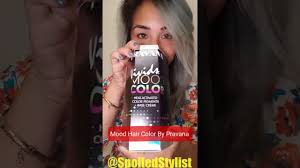 heat activated mood changing hair color by pravana spoiled stylist