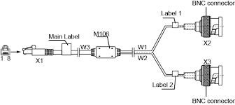 eda2f4bef2db430bb15373b1b8708984 Rj45 To Bnc Wiring Diagram figure 5 13 structure of a 75 ohm rj45 to bnc cable RJ45 Wall Jack Wiring Diagram