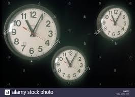 large office clocks. Three Large Office Clocks On Wall 1