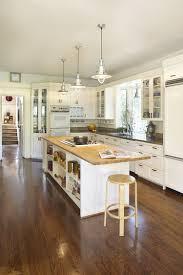 Kitchen Island Open Shelves Brown Wooden Island With Open Shelves Wooden Kitchen Cabinets