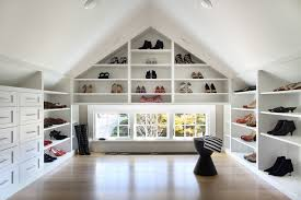 walk in closet organizer for lady s shoes and white cabinets light wood color flooring system black
