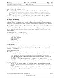 Cover Letter Narrative Resume Sample Narrative Resume Example