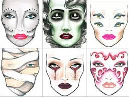 Mac Makeup Tricks For A Halloween Treat Halloween Makeup