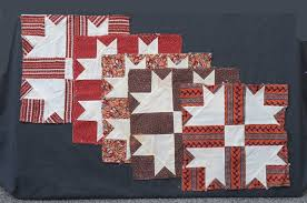 American Antique Quilt Tops For Sale - Vintage Quilt Tops & QB254 Turkey Tracks Quilt Blocks Adamdwight.com