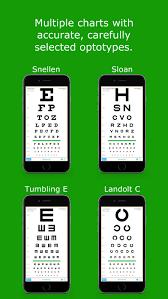 How To Use Sloan Eye Chart Eyechart Vision Screening By Dok Llc Ios United States