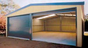 9 00 x 5 00m steel double garage double garages bonds garages and sheds